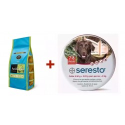 Satisfaction Puppy Medium + Seresto 70cm