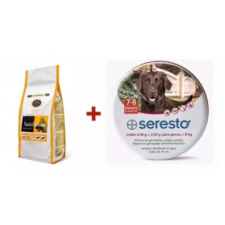 Satisfaction Regular Mini + Seresto 70cm