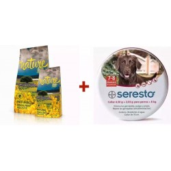 Satisfaction Nature Cordero + Seresto 70cm