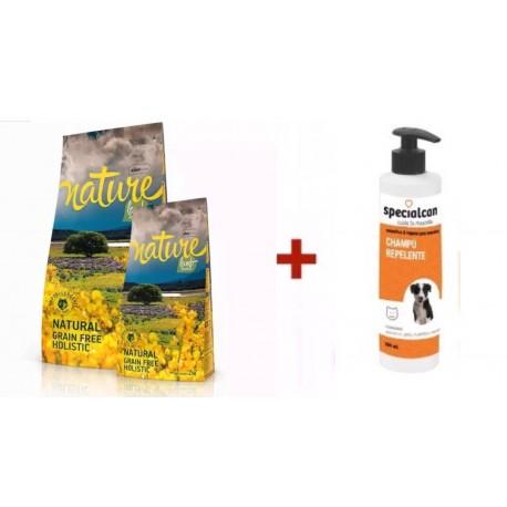 Satisfaction Nature Cordero + Champú Repelente Specialcan