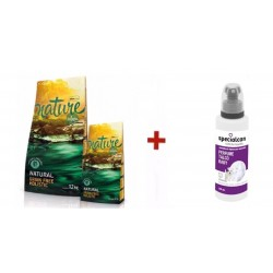 Satisfaction Nature Salmón + Perfume de Talco Baby Specialcan