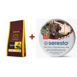 Satisfaction Lamb & Rice + Seresto 70cm